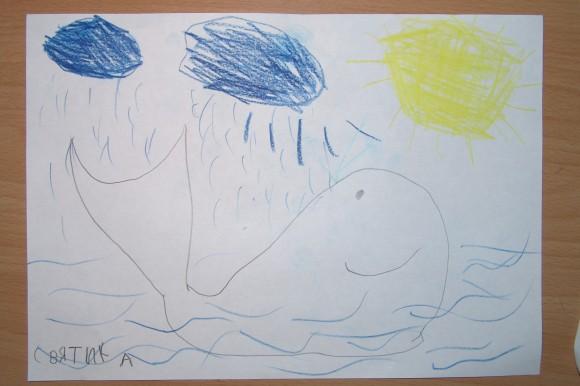 Сильный кит.